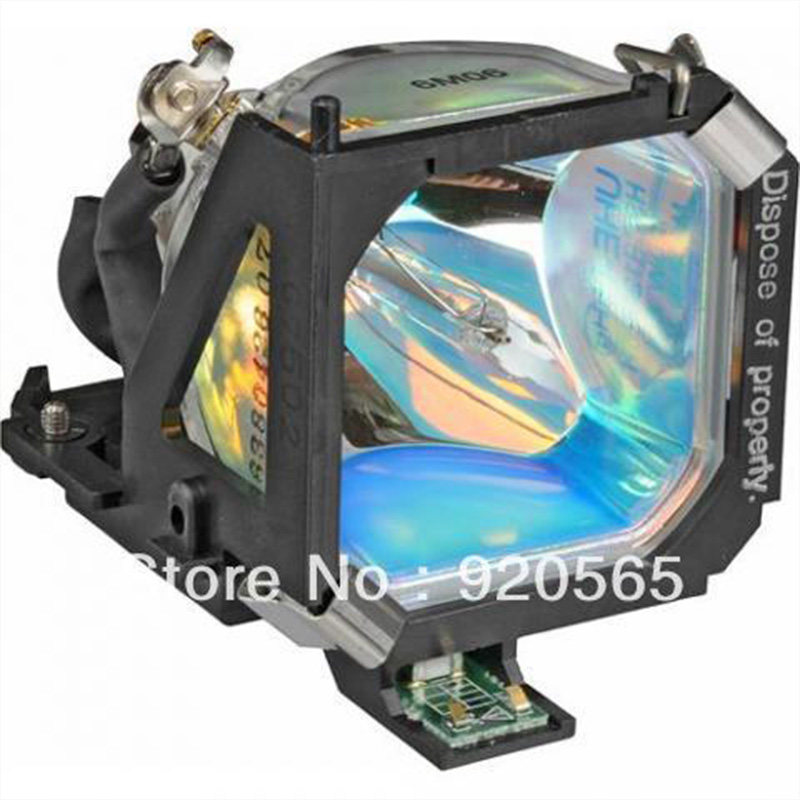 Free shipping Replacement Projector bulb With Housing ELPLP10/V13H010L10 for EMP-710 /EMP-500 /EMP-510 /EMP-700/ PowerLite 710C original projector lamp elplp10 for epson emp 710 emp 500 emp 510 emp 700 powerlite 710c