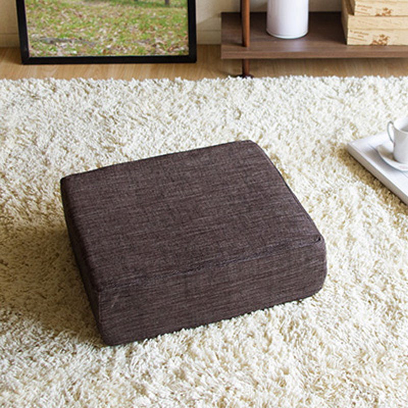 ... Soft Round Dining Cushion Chair Seat Thick Sponge Cushion Bean Bag Read  Book Watch TV Removable ...