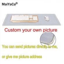 Tapis de souris rectangulaire de jeu, personnalisé avec votre Image Cool, à faire soi même, tapis en caoutchouc pour ordinateur