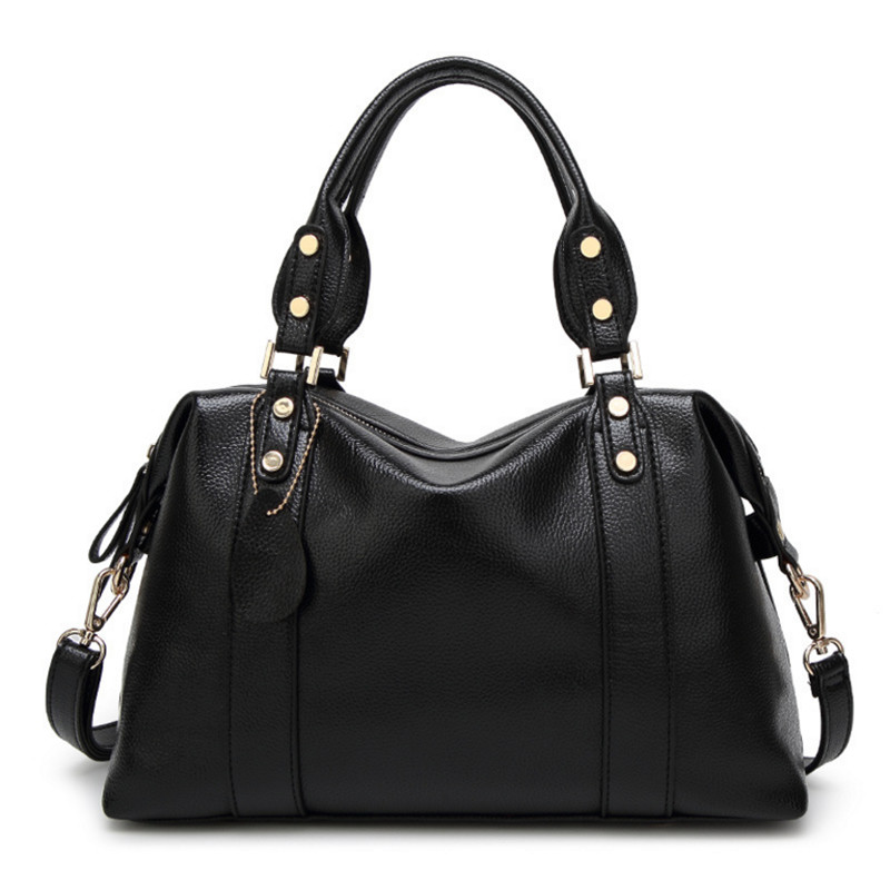 Large PU leather bags ladies bags handbags women famous brands designer shoulder bag high quality tote bag for women herald fashion 2017 large capacity women shoulder bag high quality leather handbags for women brand ladies tote bag pu pouch