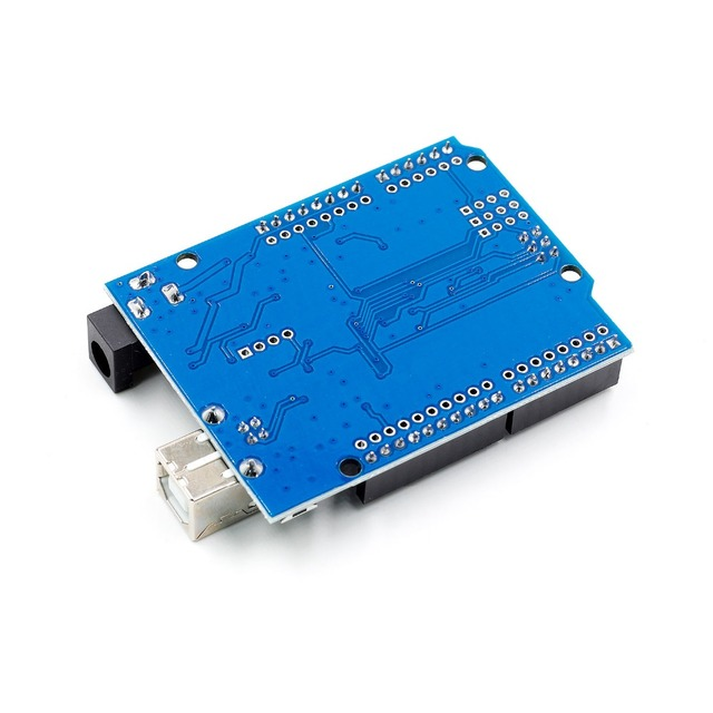 high quality One set UNO R3 CH340G+MEGA328P Chip 16Mhz For Arduino UNO R3 Development board + USB CABLE 4