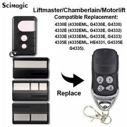 1 шт. камергер Liftmaster 4335E 4335EML Замена дистанционного управления гаражные ворота брелок автоподъемник G4335E 433 МГц удаленный гараж