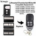 1 pièces Chamberlain Liftmaster 4335E 4335EML remplacement télécommande porte de Garage clé Fob Motorlift G4335E 433mhz garage à distance