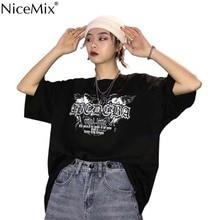 NiceMix hip hop harajuku moda feminina T shirts summer brand women casual tshirt plus size tops camisetas mujer loose tees ulzza