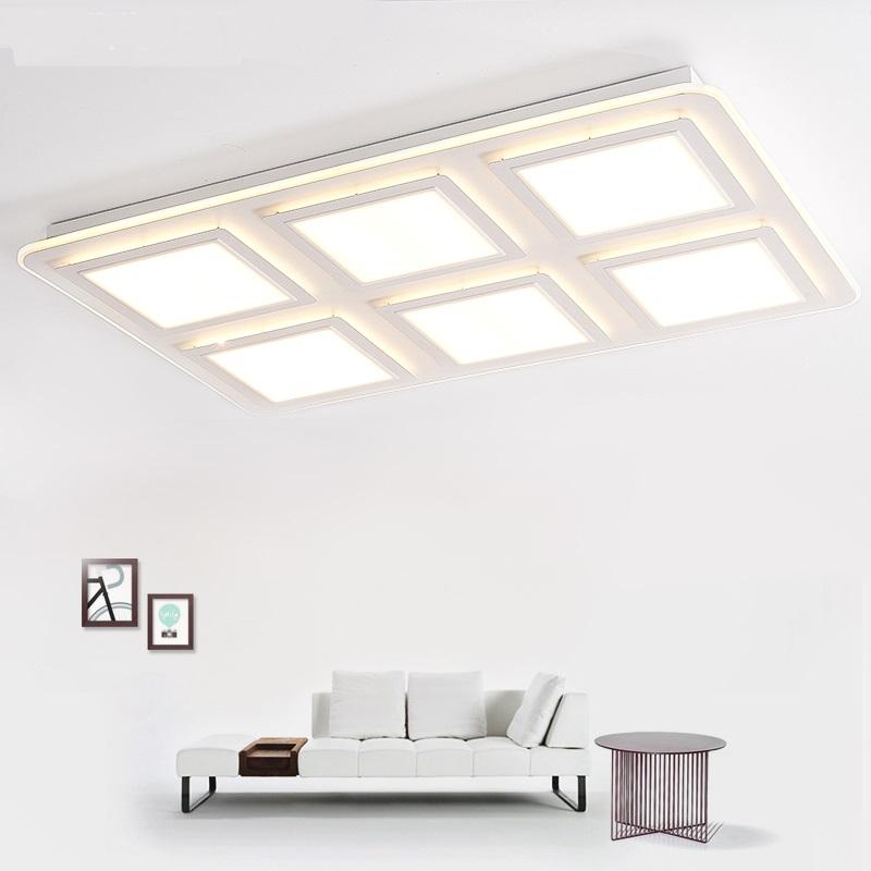 Led Deckenleuchten Wohnzimmer Lampe Rechteckige Atmosphre Modernen Minimalistischen Quadratische Schlafzimmer Konferenzra