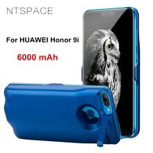 лучшая цена NTSPACE 6000mAh Ultrathin Power Bank Case For Huawei Honor 9i Portable Battery Charger Cases For Huawei Honor 9 Lite Power Case