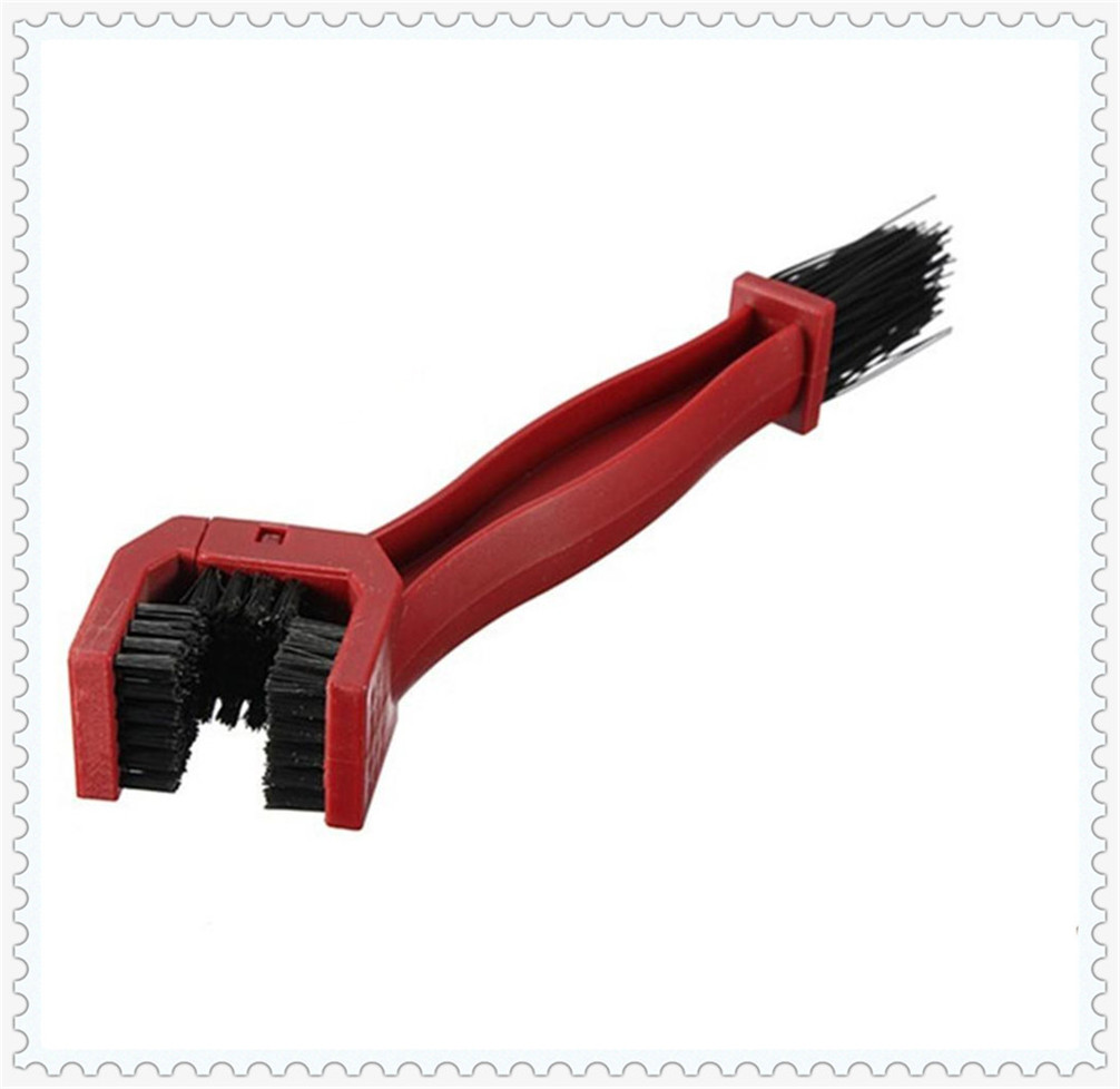 Motorcycle accessories bicycle sprocket wheel cleaning brush for KTM Bajaj PulsaR <font><b>200</b></font> <font><b>NS</b></font> 1190 AdventuRe R 1050 RC8 Duke image