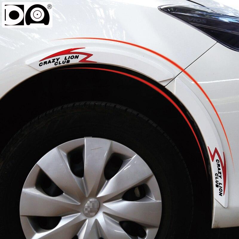 Car Wheel Eyebrow Bumper Strip For Hyundai Santa Fe Ix35 Ix25 I10 I20 I30 I40 Sonata Ioniq Genesis Elantra Tucson