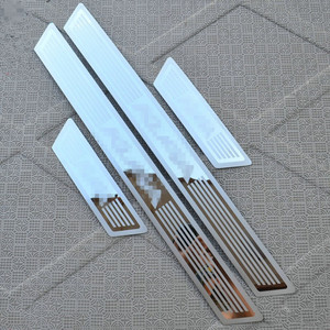 Image 1 - For Ford KUGA 2013 2018 2019 Door Sill Scuff Plate Cover Trim Stainless Steel Kick Pedal Stickers Guard Car Styling Accessories