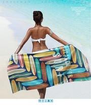 Серфинг компактный пляжные Полотенца микрофибры Путешествия Полотенце для фитнеса доска для серфинга серфинг Полотенца
