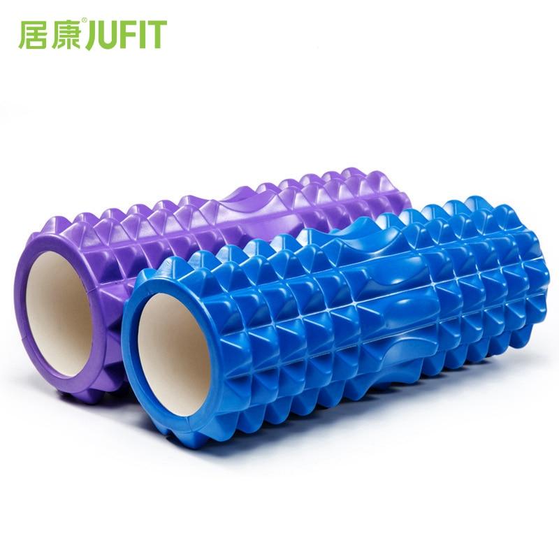 JUFIT 33x13 cm Blocchi di Yoga schiuma EVA Rullo di Massaggio del Rullo a forma di Mezzaluna di Yoga Pilates Fitness Fisioterapia Riabilitazione