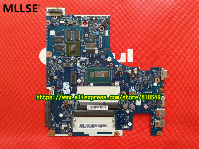 High quanlity ACLUA/ACLUB NM-A273 Laptop Motherboard Fit For Lenovo Z50-70 Notebook PC Main Board for lenovo g50 70 i5 motherboard aclua aclub nm a273 rev1 0 840m 2gb video card with graphics card 100