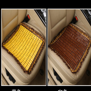 Image 2 - Bamboo car seat cushion  wood beads Square  General car seat cover summer ventilation seat bamboo mat