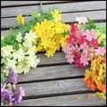 Plantas de simulação Pastoral Pequena Margarida de Seda Artificial Orquídea Flores do Crisântemo Flores De Seda Sala de estar Decoração Do Quarto