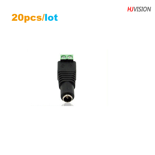 BNC adaptor DC jack  Female DC Connector 12V DC power connector for CCTV camera DC jack ,20pcs/lot,free Shipping