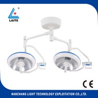 double dome ceiling Dental oral light Medical Examination Surgical Operating Lights free shipping 1set