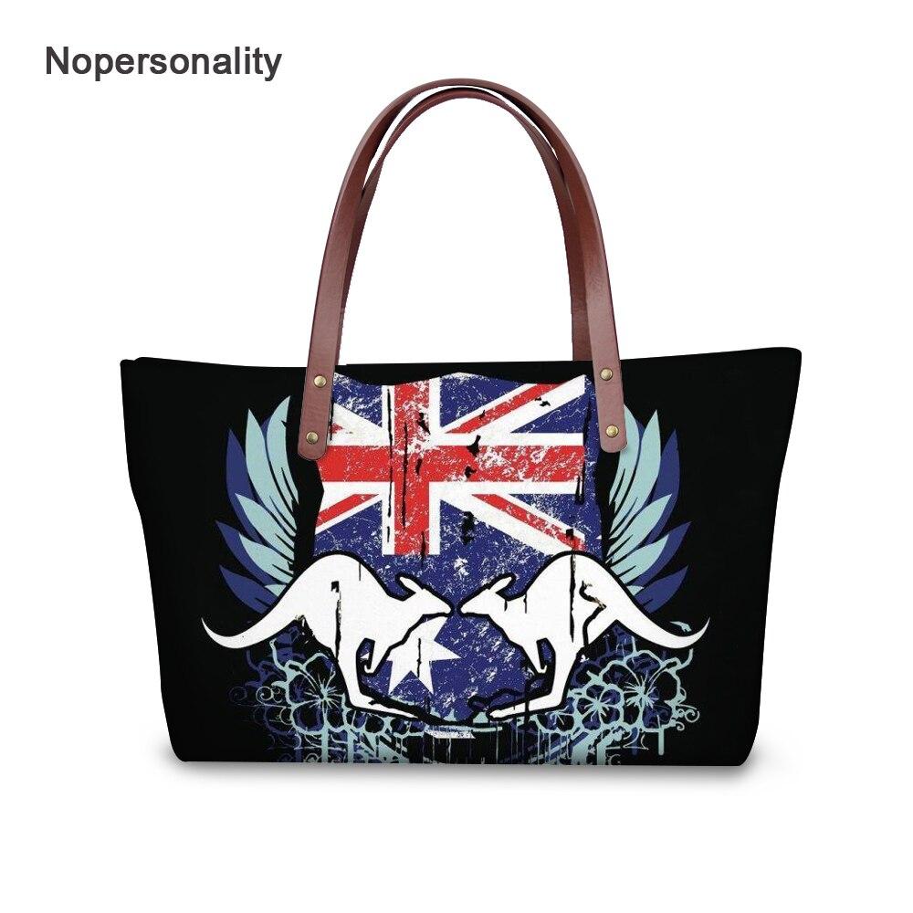 Nopersonality Australia Kangaroo Print