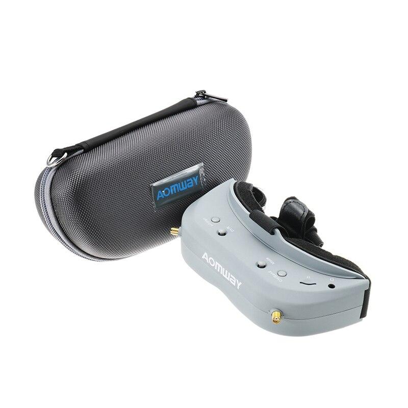 Aomway Commander V1 5.8G 40CH 2-4 s FPV vidéo FPV lunettes compatible casque pour kit de Drone de course FPV