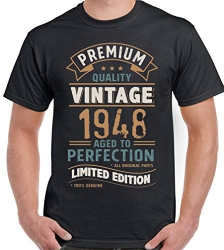 14ca6584f 2019 Summer Fashion Hot Vintage Year 1948 - Limited Edition 70th Birthday  Mens Funny T-Shirt 70 Year Old Tee shirt