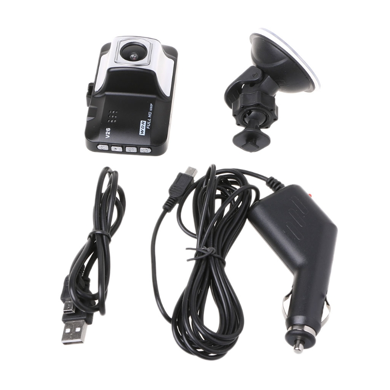 Car DVR Camera Full HD 3 1080P 140 Degree Dash cam Video Night Vision Automobiles Car Camera Mini Design G-senser CCTV Kit