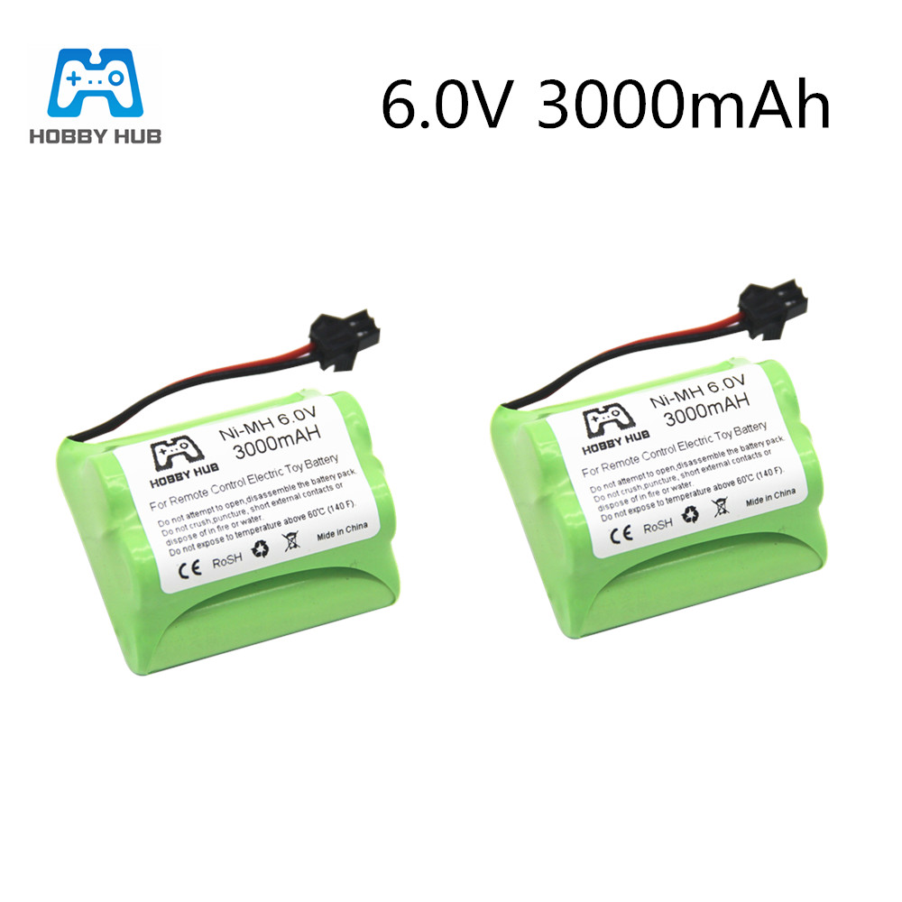 <font><b>1</b></font>/<font><b>2</b></font>/4pcs <font><b>NI</b></font>-<font><b>Mh</b></font> 6.0V 3000mAH rechargeable battery for rc car boat truck train battery remote control electric TOYS 6 <font><b>v</b></font> <font><b>AA</b></font> nimh image