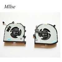Free Shipping Laptop Left and Right Cooling Fan For Dell XPS 15 9570 008YY9 0TK9J1 TK9J1 08YY9