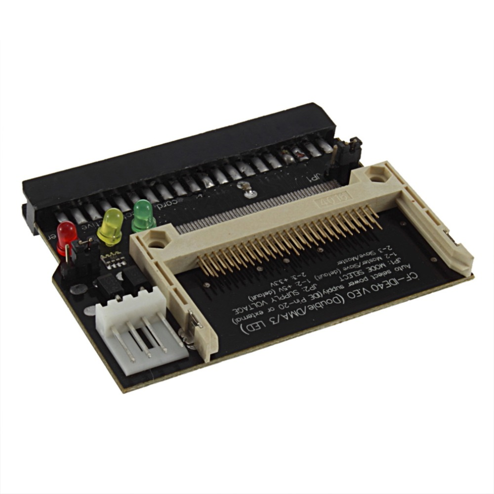 NEW 1pc Adapter Converter Compact Flash CF to 3.5 Female 40 Pin IDE Bootable Card In stock!