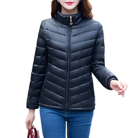 Spring And Autumn Ladies Cotton Jacket 2017 Parkas Women Slim Zipper Short Fashion Thin Jacket New
