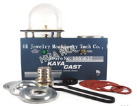 Free shipping KAYA Mini Vacuum Investing & Casting Machine Jewelry Lost Wax Cast Combination Free shipping