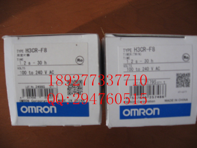 [ZOB] New original authentic OMRON Omron relay H3CR-F8 AC100-240V [zob] new original omron omron beam photoelectric switch e3jk tr12 c 2m 2pcs lot