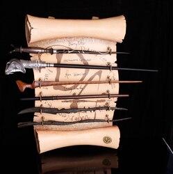 Hot Popular Coleção Núcleo de Metal Snape Harry série the elder Dumberdor Hermione Ron Lúcio malfoy varinha ginny Para vender