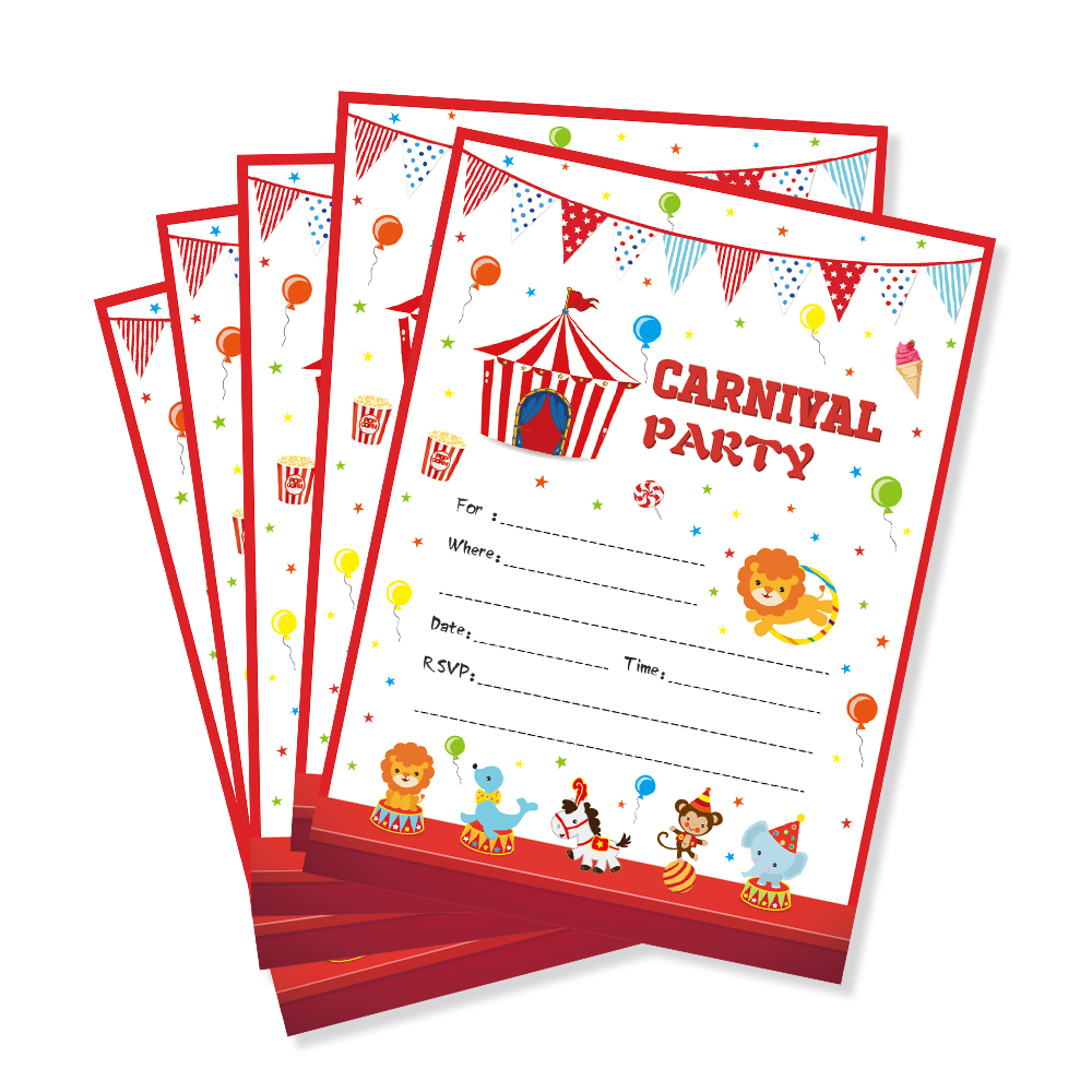 Carnival Theme Kids Birthday Party