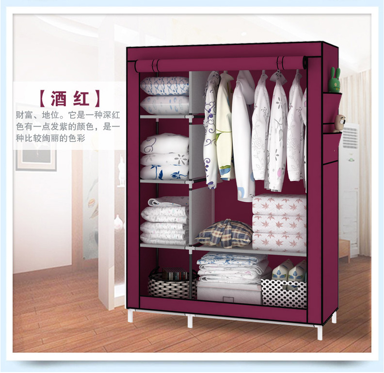 Shutter Assembly Simple Wardrobe Closet Steel Metal Storage Container  Fashion Commoner Cabinet Specials In Wardrobes From Furniture On  Aliexpress.com ...