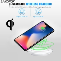 2018 NEW Qi Wireless Charging Charger Pad Wireless Charger For IPhone X 8 Plus For Samsung