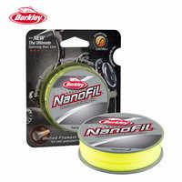 Berkley NanoFil 150yd 137m Hi-Vis Chart Fishing Line Uni-Filament Casting Line High Strength/Diameter Ratio Spinning Reel Pesca