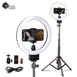 Image 4 - Photography LED Selfie Ring Light 16/23cm Dimmable Photo Studio Light With Mini Tripod USB Plug For Makeup Youtube Video Live