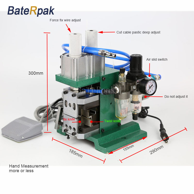 DZ-3FN BateRpak Pneumatikus kábeltávolító gép, huzal plazitc - Elektromos kéziszerszámok - Fénykép 2