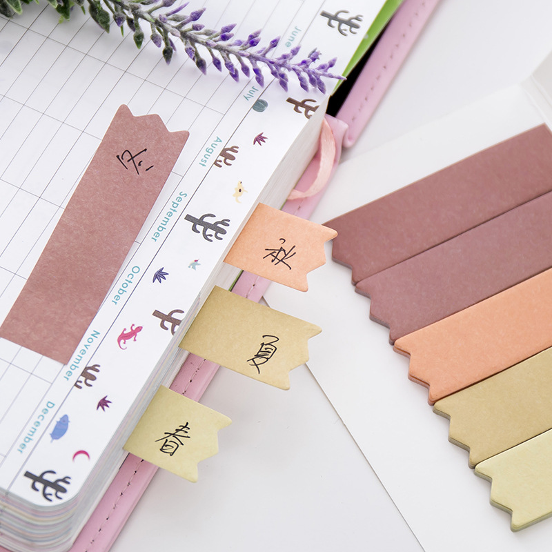 BLINGIRD Sale Every 100 Posts Message Decoration stickers scrapbooking Note Sticky Guestbook series cute is very convenient in Memo Pads from Office School Supplies