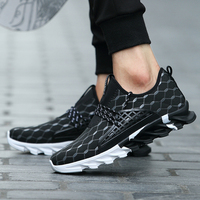 PKSAQ 2018 Spring Summer Breathable Light Mesh For Men Sneakers Male Shoes Lover Casual Adult Walking Couples Brand Footwear