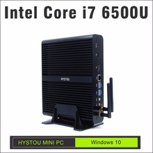 fmp05b-i7 6500u mini-pc windows 10 pro intel core i7 6500u fanless small computer support 16gb ram minicomputer i7 barebone mini