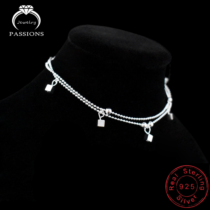 anklet anklets products silver oxidised designer buy tone sterling