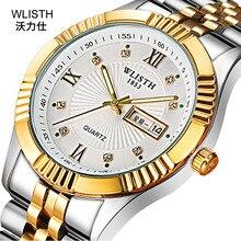 American personality waterproof Fashion ultra-thin steel belt quartz watch simple business luminous trend 33