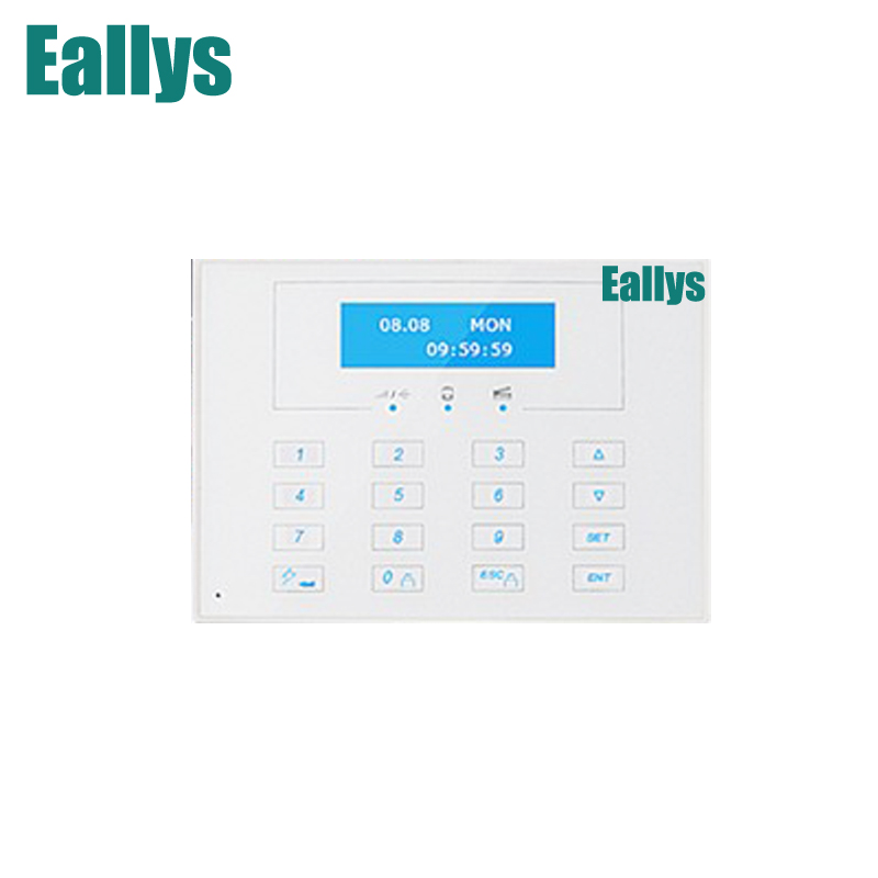 868MHZ LCD display Wireless Two-way remote control keypad, External Password keyboard for 868MHZ gsm alarm systems programmable usb emulator rs232 lcd acsii format keyboard numeric keypad keyboard pin pad keyboard