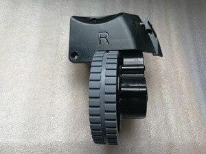 Image 3 - الأصلي اليسار اليمين عجلة مع محرك ل جهاز آلي لتنظيف الأتربة ilife A6 A8 ilife X620 X623 جهاز آلي لتنظيف الأتربة أجزاء عجلة المحرك
