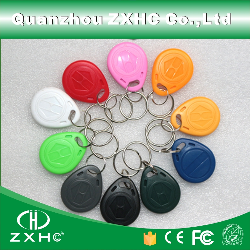 (10) 125KHz EM4305 RFID Programmable Keyfob Rewritable Key Finders Keychain For Copy EM4100