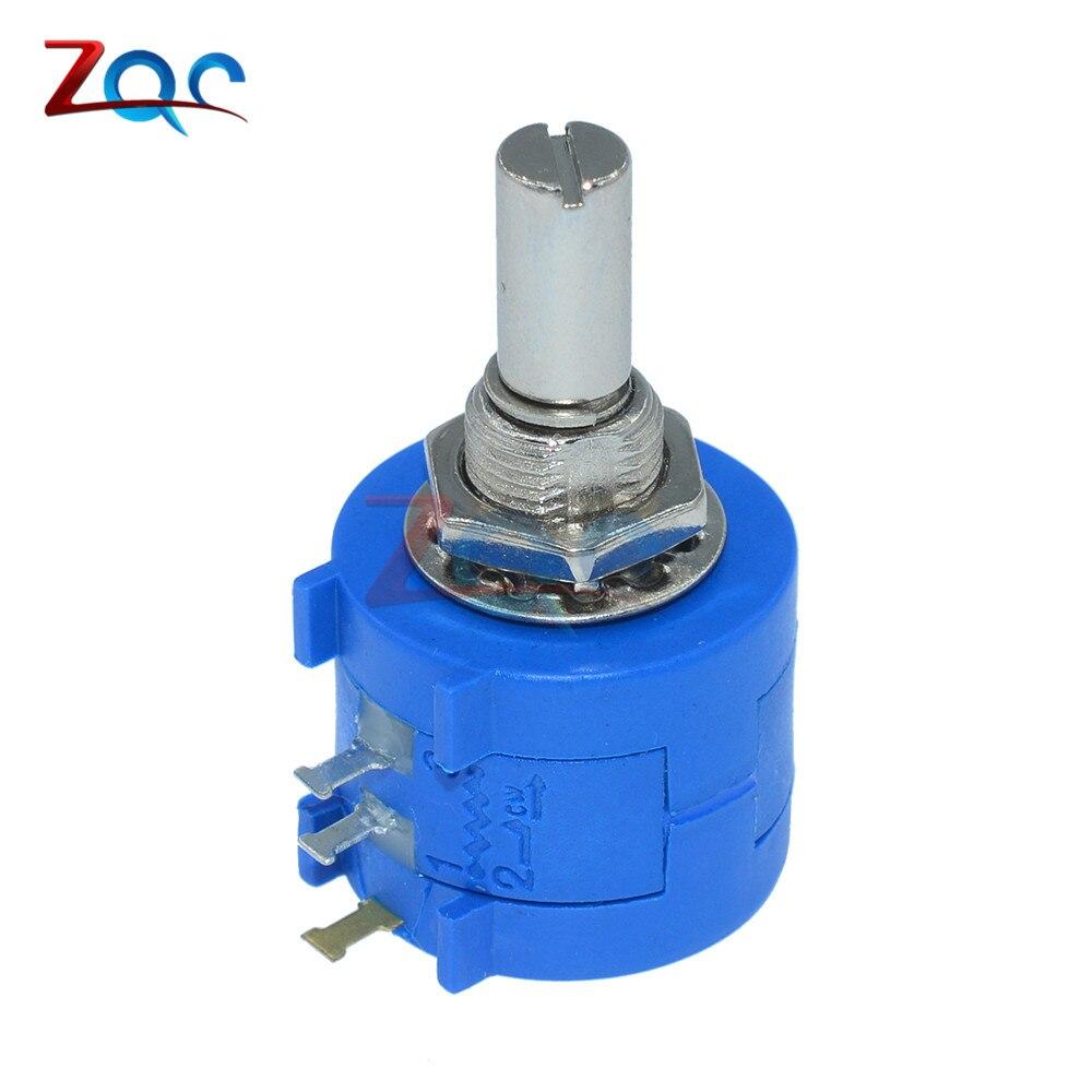 3590S-2-503L 3590S 50K ohm Precision Multiturn Potentiometer 10 Ring Adjustable Resistor 3590s 6 503l potentiometers mr li
