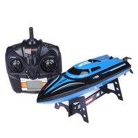 2,4G 4CH H100 Fernbedienung Racing Boot Mit Hoher Geschwindigkeit 25 KM/STD Riesige Großen Schiff Yacht Hobby Outdoor Spielzeug Blau