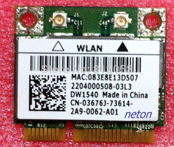 SSEA Оптовая Продажа Новинка для Broadcom BCM943228HM4L DW1540 Половина мини PCI-E 2,4G/5 ГГц 300 Мбит/с WIFi беспроводная карта для DELL