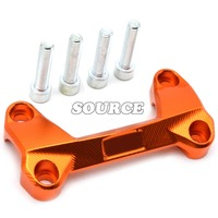 New Style Of High Quality Motorcycle CNC Aluminum Handlebar Risers Top Cover Clamp Fit For KTM