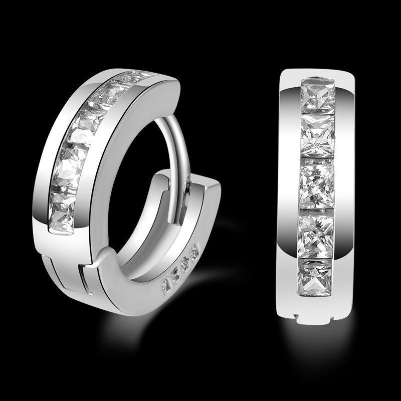 Sterling-sølv smykker pendientes mujer øreringe 925 brincos plata - Mode smykker - Foto 2